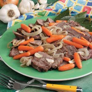 Garlic Chuck Roast Recipe