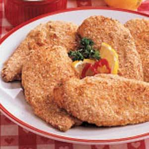 Sesame Chicken with Mustard Sauce Recipe