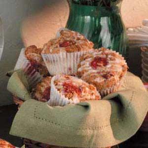 Raspberry Streusel Muffins Recipe