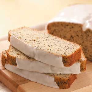 Makeover Poppy Seed Bread Recipe