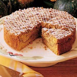 Buttercup Squash Coffee Cake Recipe
