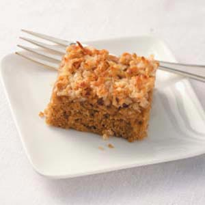 Oatmeal Cake with Broiled Frosting Recipe
