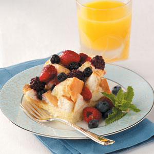 Mixed Berry French Toast Bake Recipe