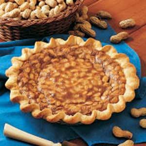 Double Peanut Pie Recipe