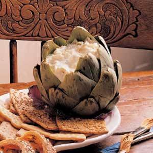 Cheesy Artichoke Dip Recipe