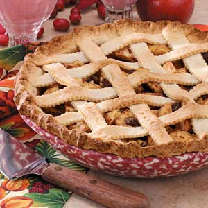 Applesauce Lattice Pie Recipe