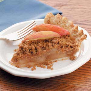 Peanut Butter Crumb Apple Pie Recipe