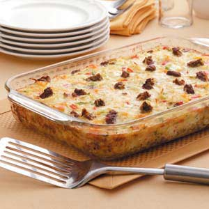 Can't Believe It's Meatless Egg Bake Recipe
