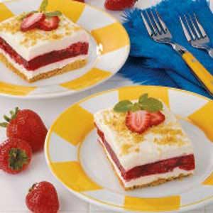 Strawberry Graham Dessert Recipe