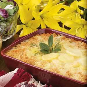 Swiss Scalloped Potatoes Recipe