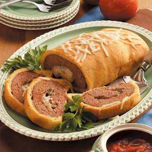 Baked Meat Loaf Wellington Recipe
