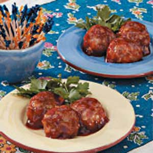 Saucy Turkey Meatballs Recipe
