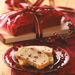 Cranberry-Pecan Quick Bread Recipe