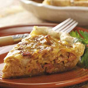 Canadian Bacon Onion Quiche Recipe