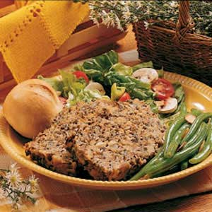 Wild Rice Meat Loaf Recipe