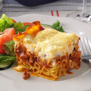 Nikki's Perfect Pastitsio Recipe