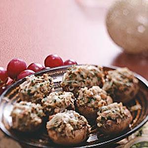 Cheese-Stuffed Mushrooms Recipe