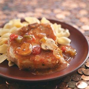 Pork Chop Cacciatore Recipe