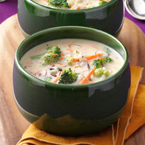 Broccoli Wild Rice Soup Recipe