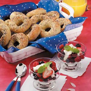 Honey Bagels Recipe
