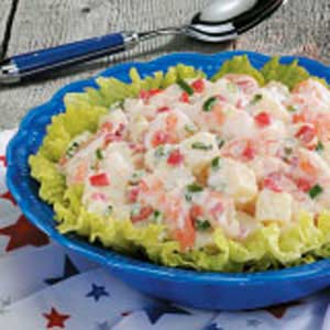 Cajun Shrimp Potato Salad Recipe
