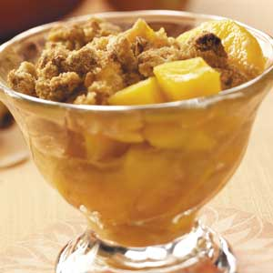 Mango Fruit Crisp Recipe