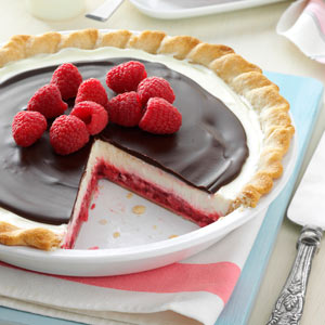 Chocolate Raspberry Pie Recipe