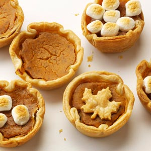 Pumpkin Tartlets Recipe