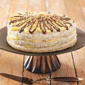 Poppy Seed Torte Recipe