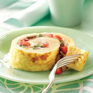Spiral Omelet Supreme Recipe