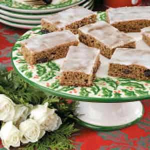 Raisin Cinnamon Bars Recipe