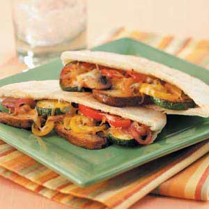 Portobello Pockets Recipe