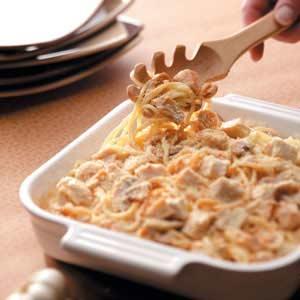 Turkey Mushroom Tetrazzini Recipe