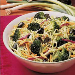 Nutty Broccoli Slaw Recipe