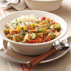 Chicken and Okra Gumbo Recipe