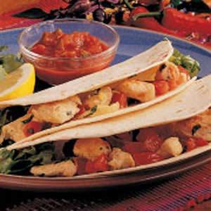 Lemon Chicken Tacos Recipe