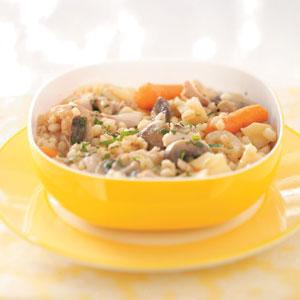 Orange Barley Chicken Recipe
