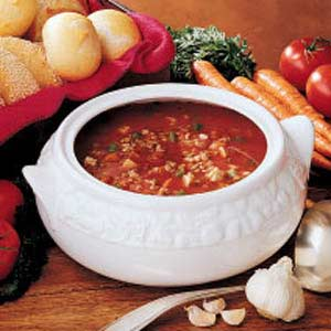 Lentil Barley Soup Recipe