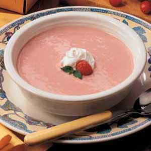 Raspberry-Cranberry Soup Recipe