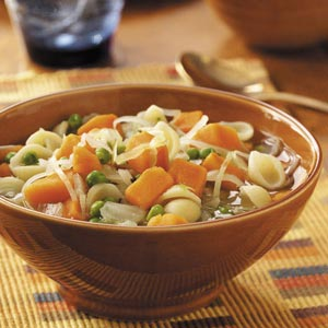 Sweet Potato Minestrone Recipe