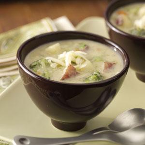 Broccoli and Potato Soup Recipe