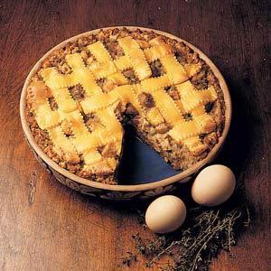 Chicken and Stuffing Pie Recipe