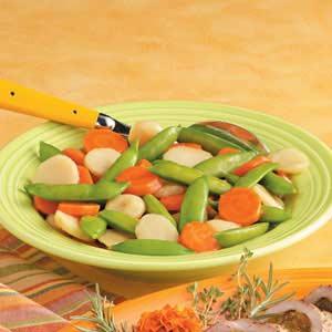 Polynesian Vegetables Recipe