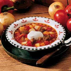 Easy Hungarian Goulash Soup Recipe