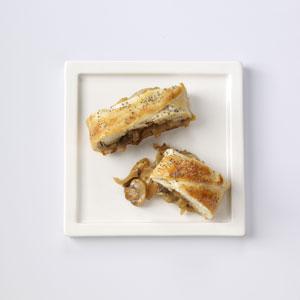 Sweet Onion & Mushroom Braid Recipe