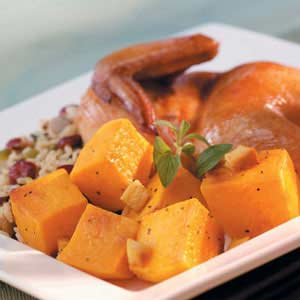 Ginger Orange Squash Recipe