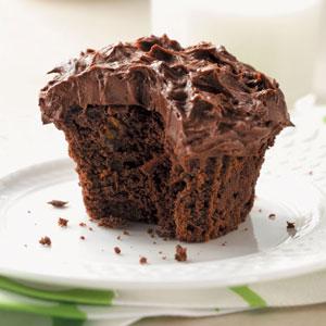 Chocolate Zucchini Cupcakes Recipe