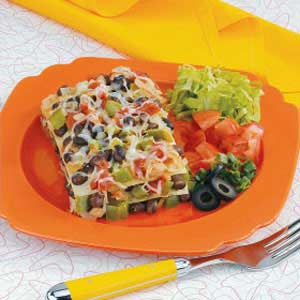 Black Bean Tortilla Casserole Recipe