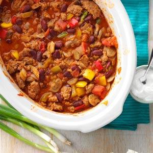 Mushroom Salsa Chili Recipe