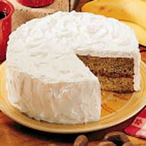 Buttermilk Banana Cake Recipe